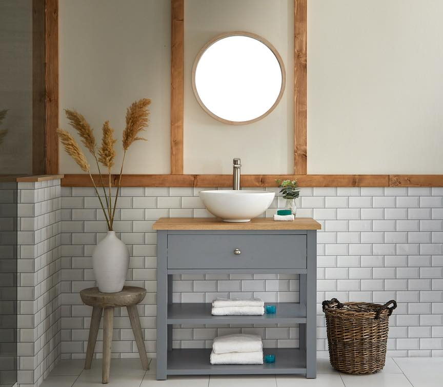 bathroom vanity units with storage
