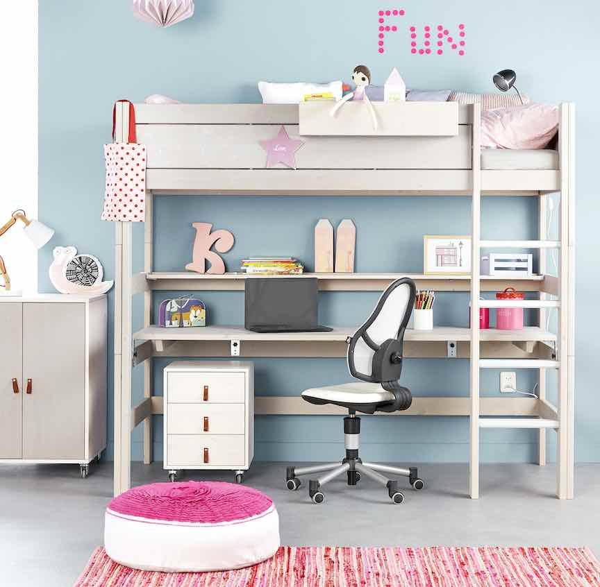 best children's desks beds