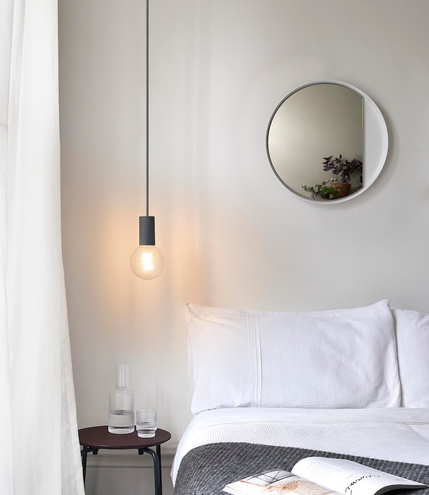Pendant bedside lights