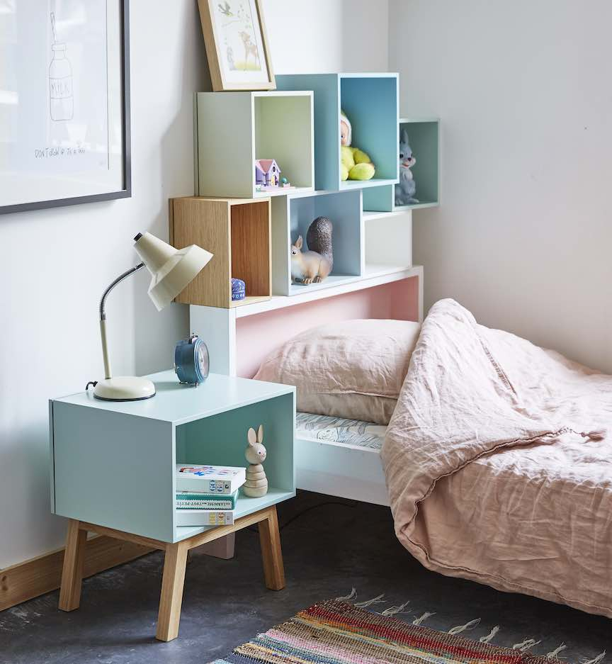 make a child's bedroom more spacious
