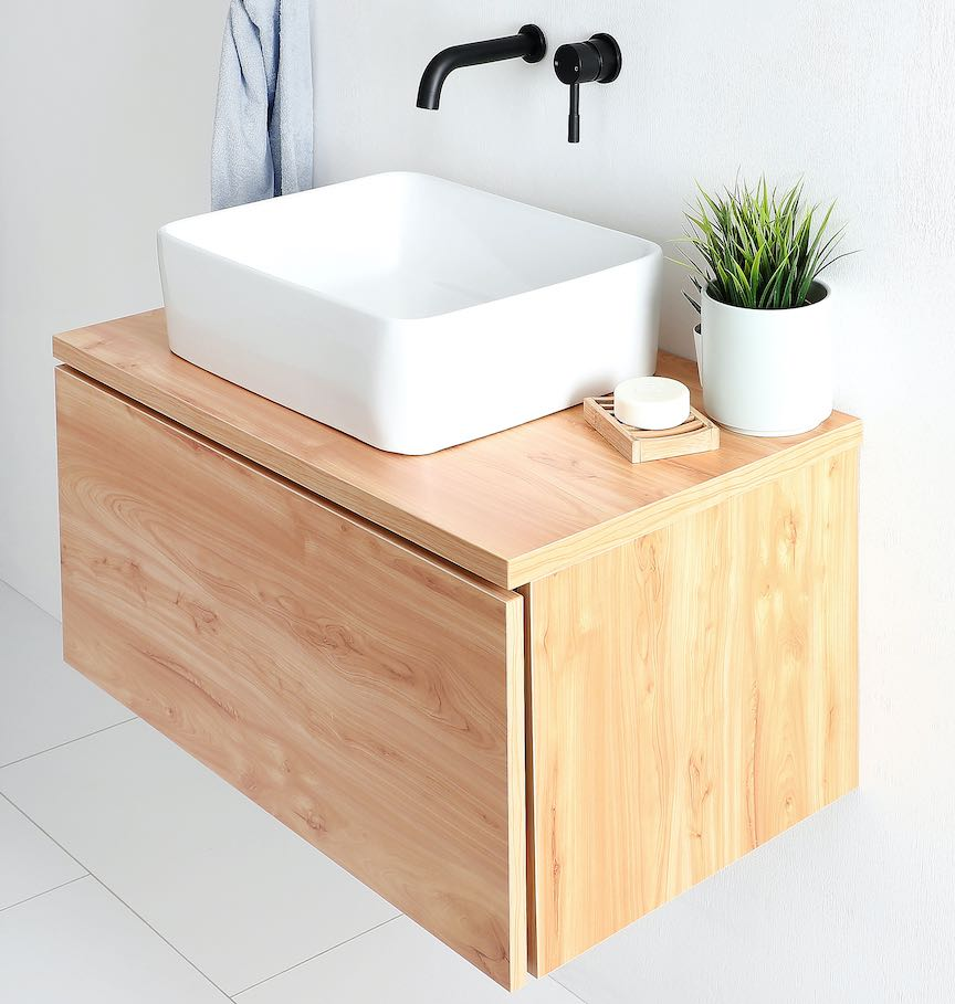 stylish wall-hung vanity
